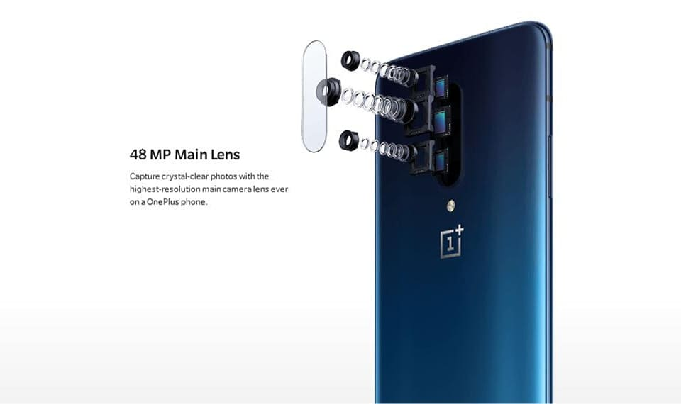 Oneplus 7 Pro Cellphone Oxygen OS Android 9 Snapdragon 855 Octa Core Pop-up Cam 6.67 Oneplus 7 pro Mobile Phone
