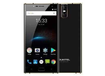 Oukitel K3 Mobile Phone MT6750T Octa Core 4GB+64GB 5.5 Dual 2.5D Screen 6000mAh 4 Cameras 16MP+2MP Front Fingerprint Smartphone