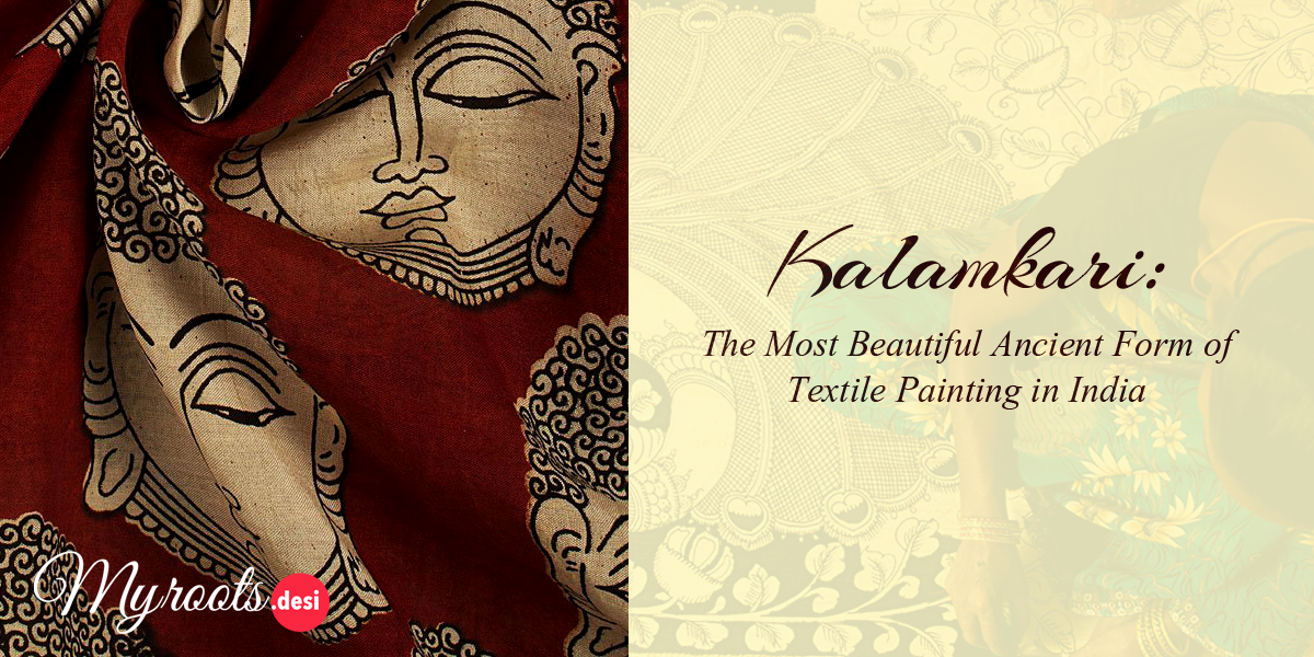 Kalamkari: The Ancient Organic Artwork Is Now the Face of India's Heritage