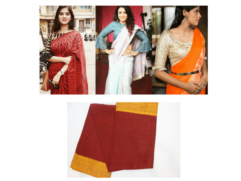 Stand Collar Neck Designs For Blouse : Best blouse designs to refresh your saree look this season
