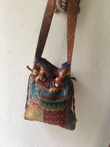 Ethnic Quilted Bag