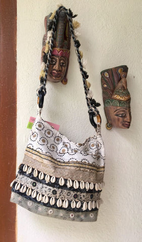 Black and White Sling Bag