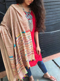 Cream Cotton Dupatta