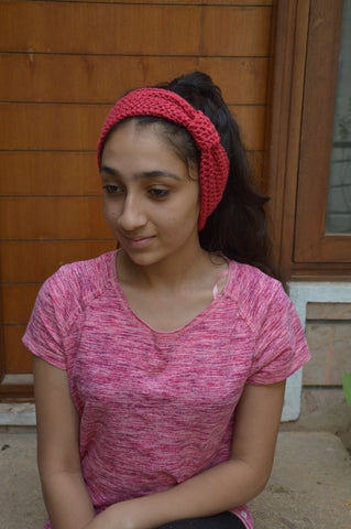 Red Color Headbands