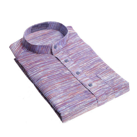 Purple with Maroon combo  Khadi long Kurta for Men