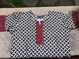 Black and White Printed Designed Kurti
