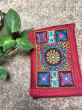 Hand embroidered Mobile Pouch-Design5