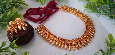 Gold plated temple collection Design 1