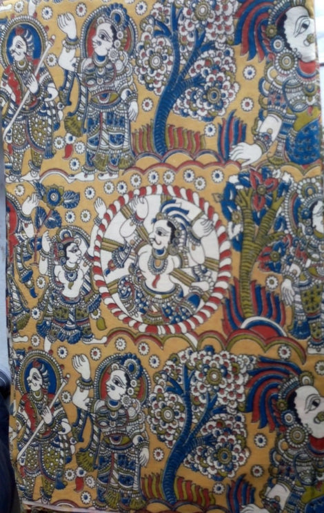 Kalamkari cotton fabric-2
