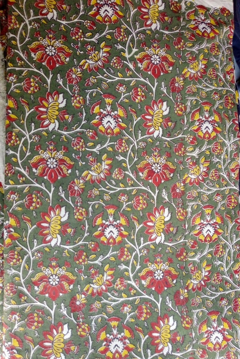 Kalamkari cotton fabric-10