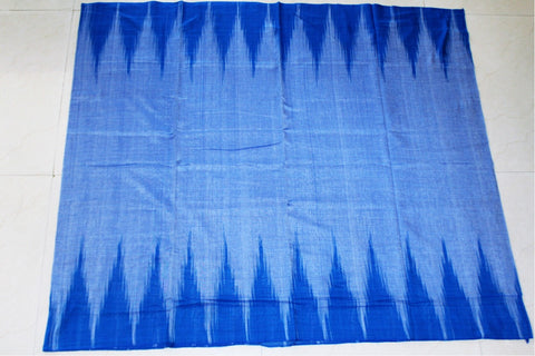 Blue Kargil Cotton Saree