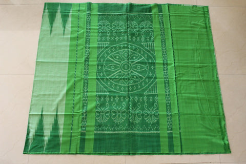 Green Kargil Cotton Saree
