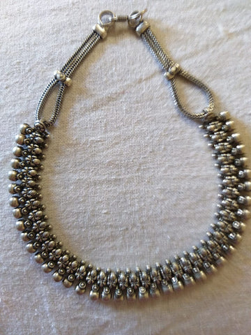 Antique german silver choker 22