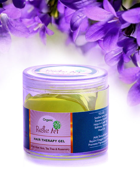 Rustic Art - Organic Hair Therapy Gel (100 Gms)