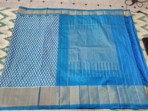 splendid pure ikkat silk saree