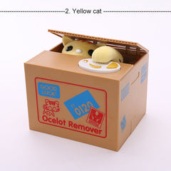 Stealing Coin Cat Bank