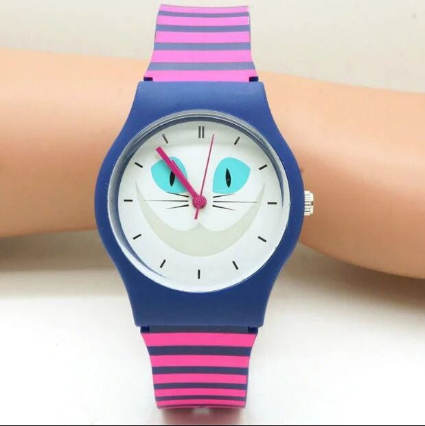 Fun Cat Water Resistant Watch