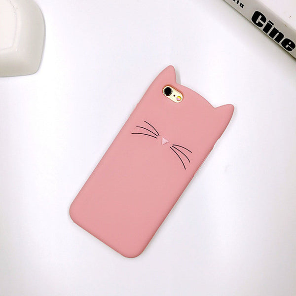 Cute Cat Whiskers Phone Case