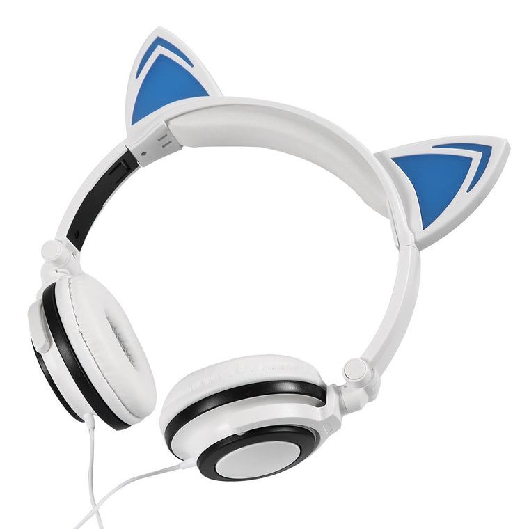 Cat Ears Foldable Headphones