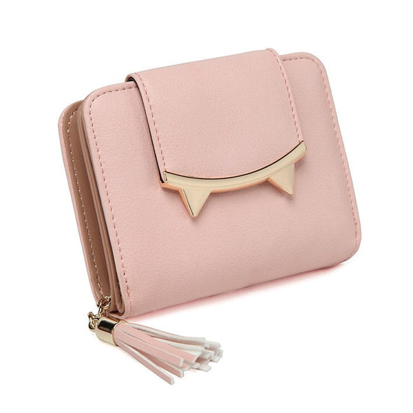 Adorable Trifold Cat Wallet