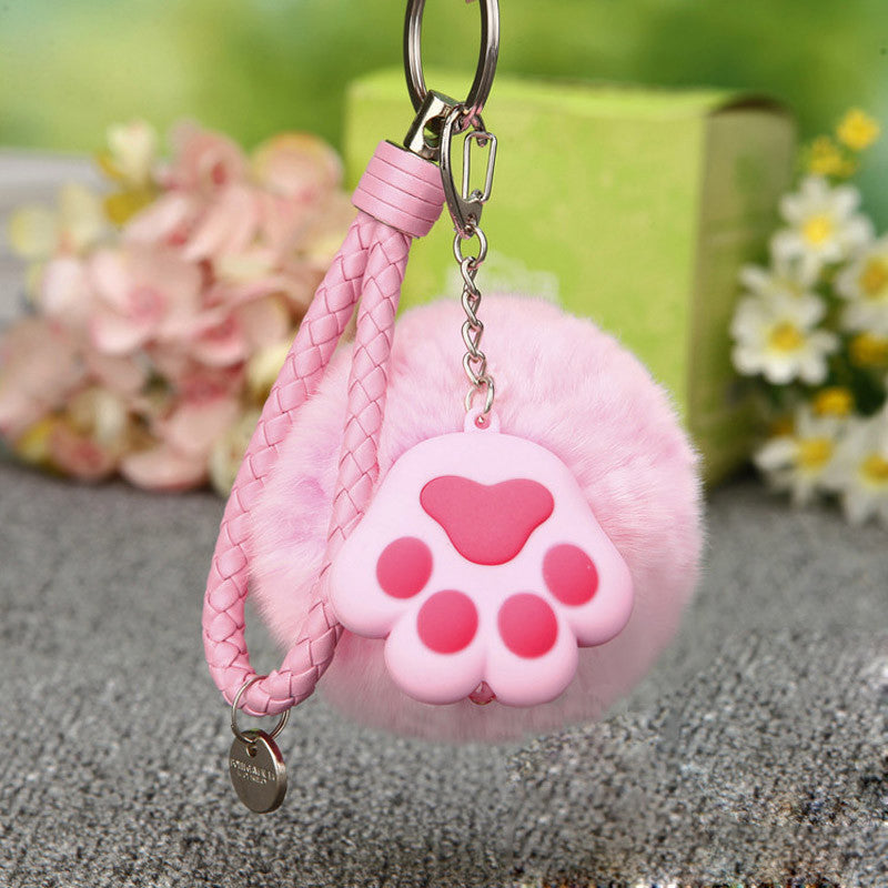 Cat Paw Key Chain