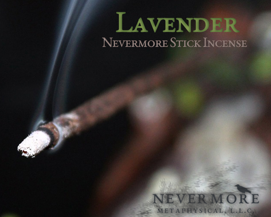 Lavender Incense  Sticks - The Nevermore Coven