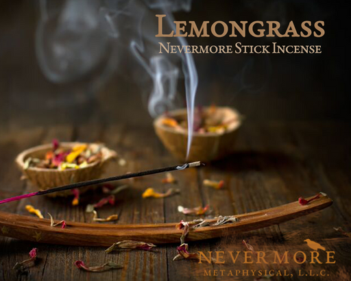 Lemongrass Incense  Sticks - The Nevermore Coven
