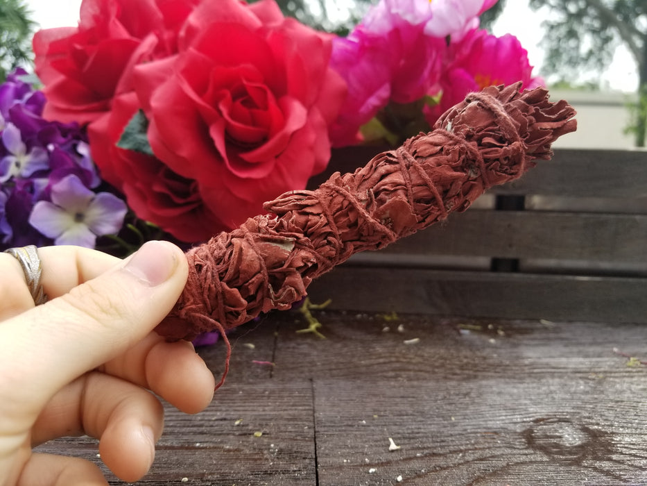 4 Inch Dragon's Blood Smudge Stick - The Nevermore Coven