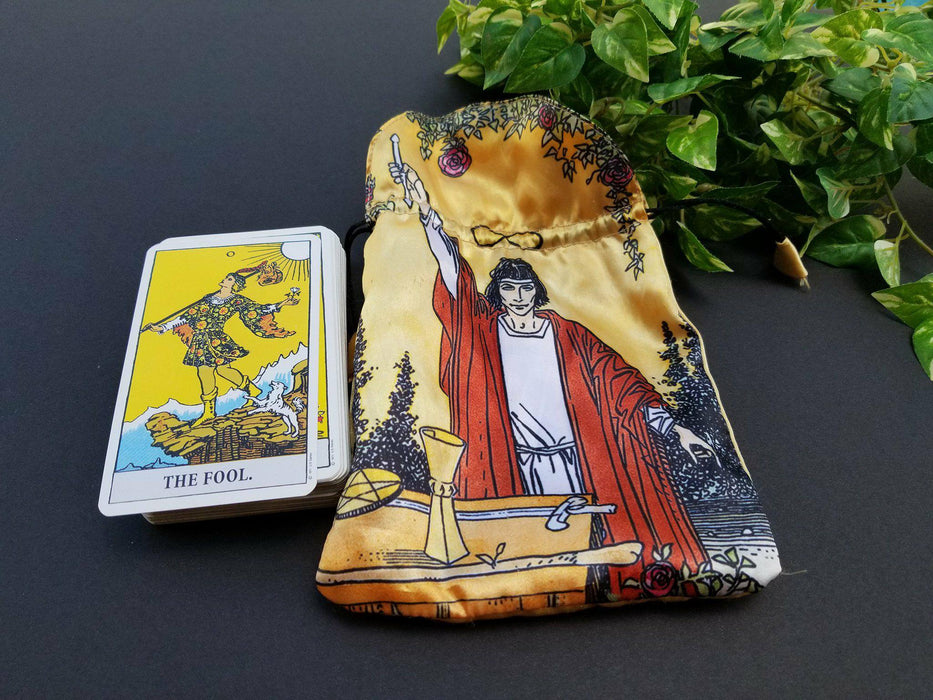 Rider-Waite Tarot Cards with Bag - The Nevermore Coven