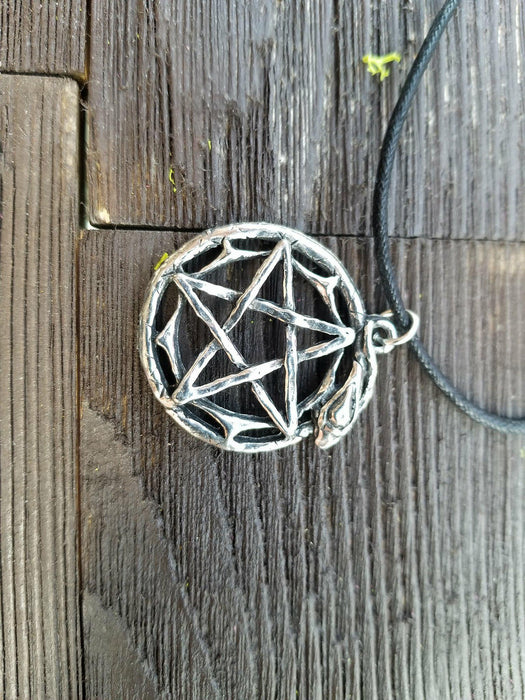 Snake Pentacle Necklace - The Nevermore Coven