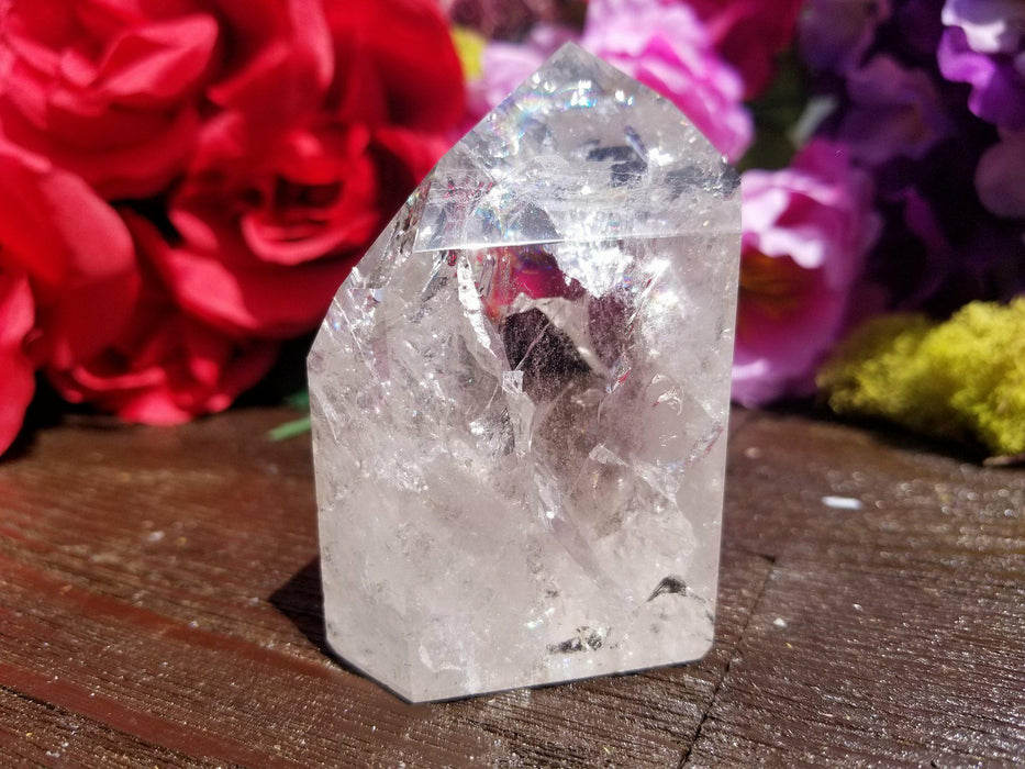 Fire and Ice Quartz Point - The Nevermore Coven