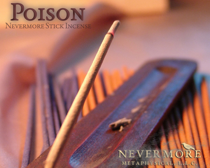 Poison Incense  Sticks - The Nevermore Coven