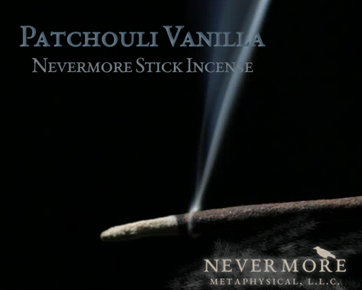 Patchouli Vanilla Incense  Sticks - The Nevermore Coven