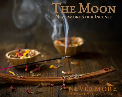 The Moon Incense  Sticks - The Nevermore Coven