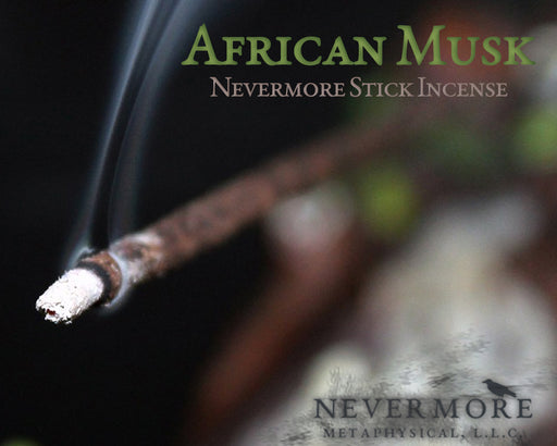 African Musk Incense Sticks - The Nevermore Coven