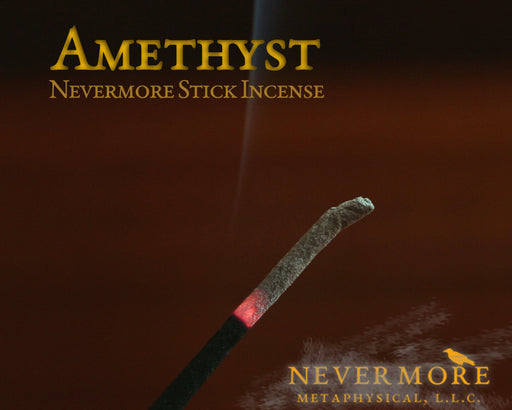 Amethyst Incense Sticks - The Nevermore Coven