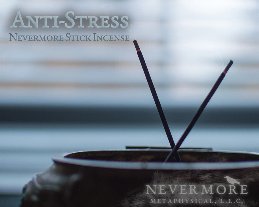 Anti-Stress Incense Sticks - The Nevermore Coven