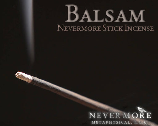Balsam Incense Sticks - The Nevermore Coven