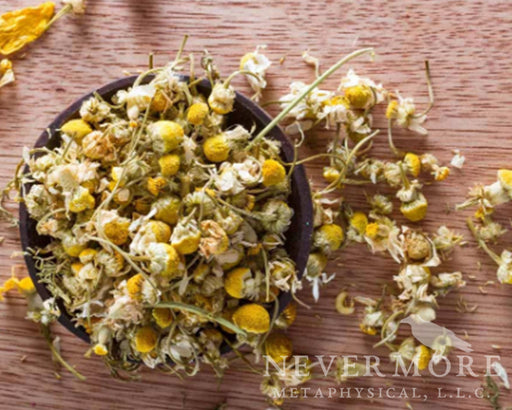 Chamomile Dried Flowers - The Nevermore Coven