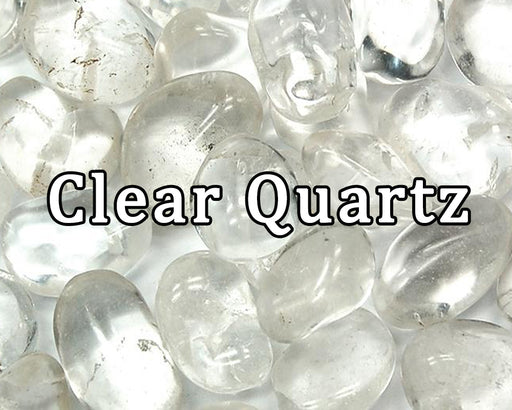 Clear Quartz Tumbled Gemstones - The Nevermore Coven