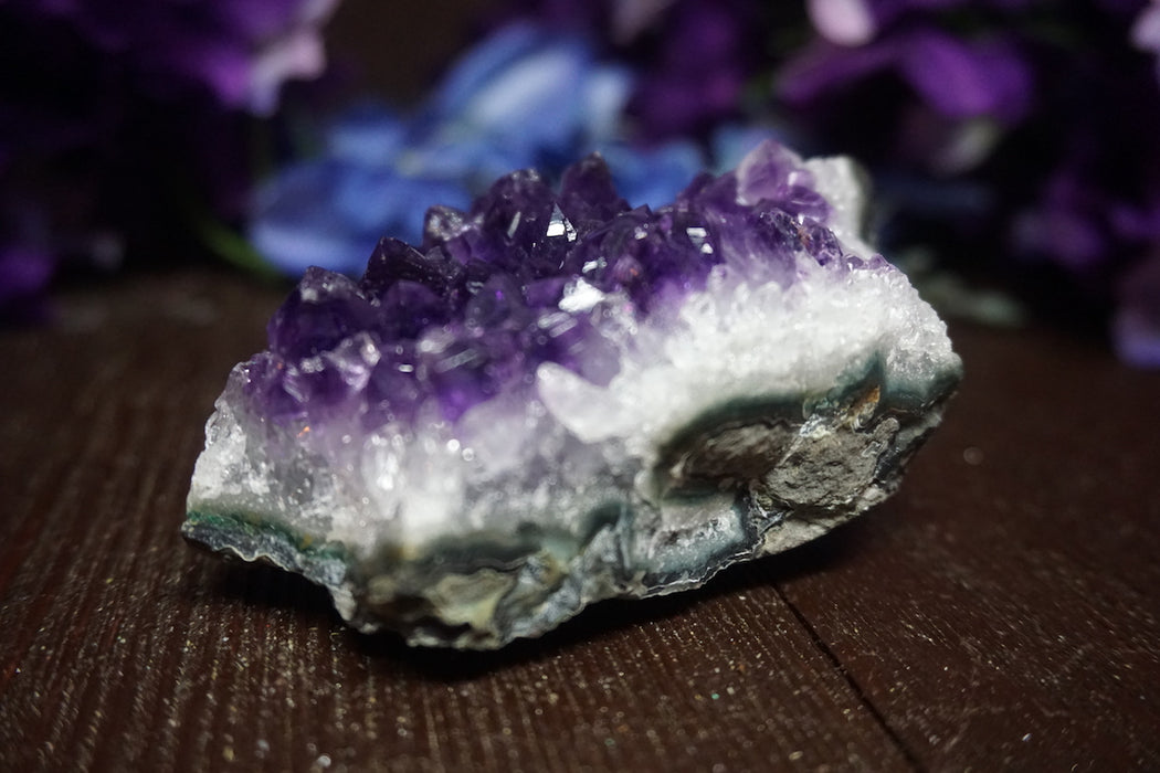 Raw Amethyst Geode - The Nevermore Coven