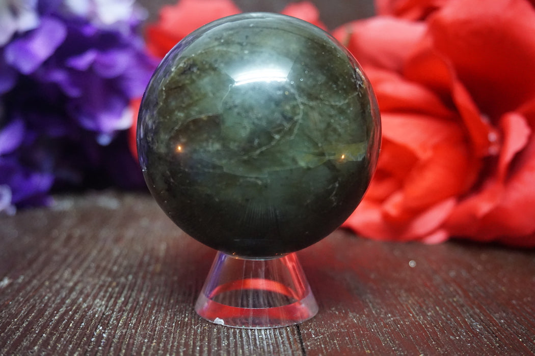 Labradorite Sphere - The Nevermore Coven