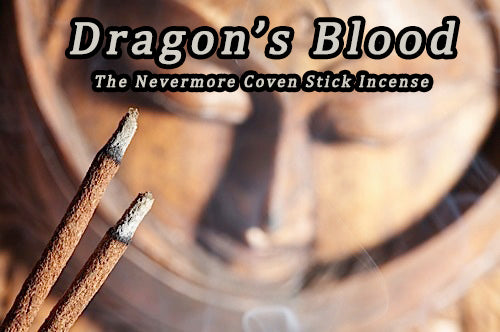 Dragon's Blood Incense  Sticks - The Nevermore Coven