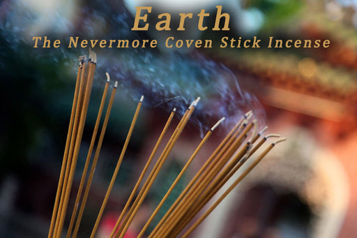 Earth Incense  Sticks - The Nevermore Coven