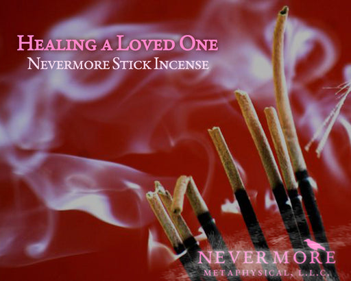 Healing a Loved One Incense Sticks - The Nevermore Coven