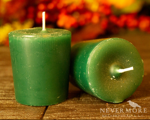 Heart Chakra Votive Candle - The Nevermore Coven