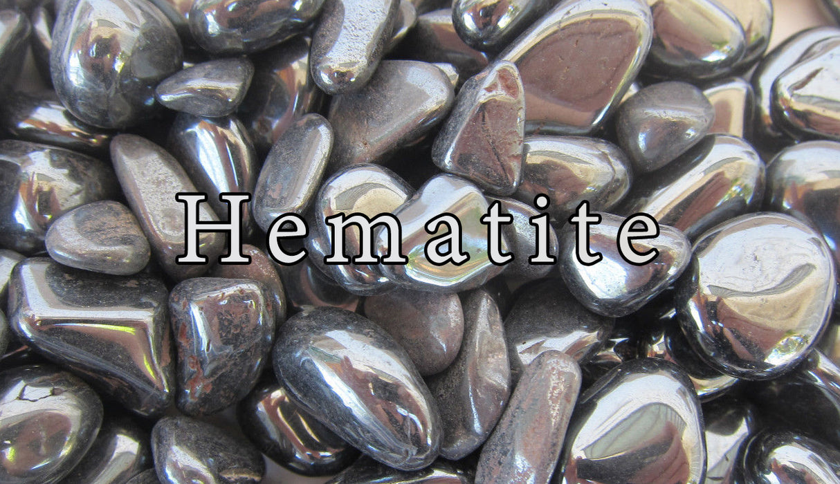 Hematite Tumbled Gemstones - The Nevermore Coven