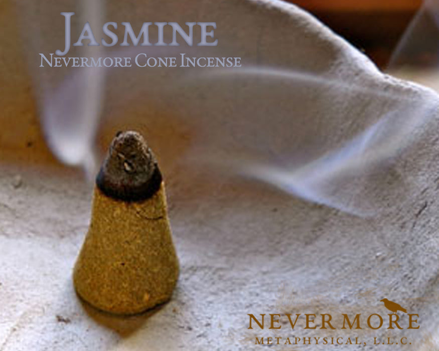 Jasmine Incense Cones - The Nevermore Coven