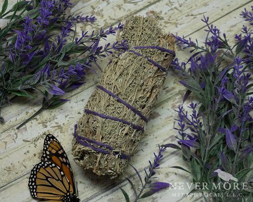 Large Sage Smudge Stick - The Nevermore Coven