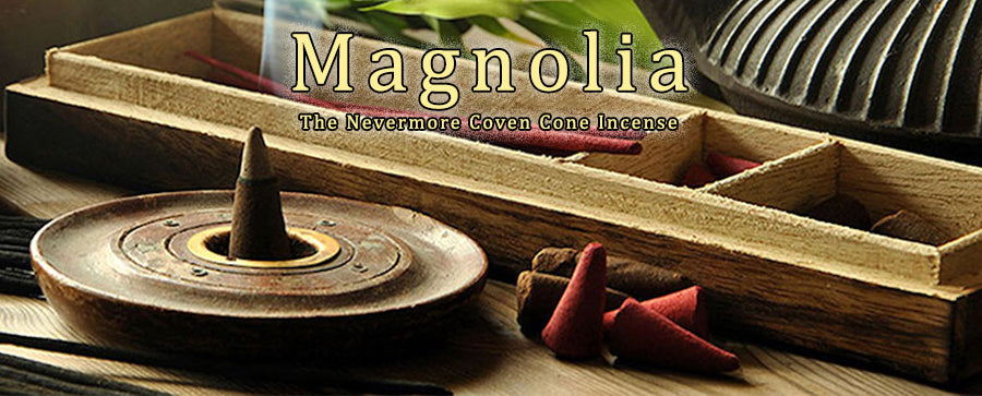 Magnolia Incense 20 Cones - The Nevermore Coven